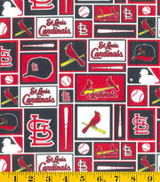 St. Louis Cardinals Cotton Fabric -Patch, , hi-res