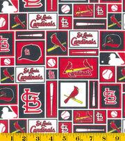 St. Louis Cardinals Cotton Fabric -Patch, , hi-res