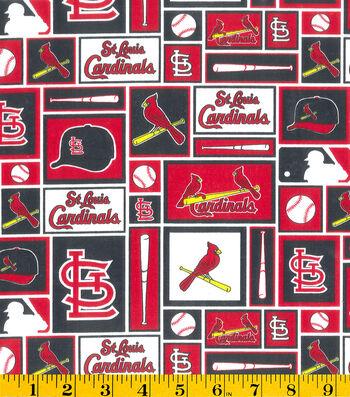 St. Louis Cardinals Cotton Fabric -Patch