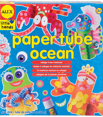 Alex Toys Little Hands Paper Tube Ocean Kit