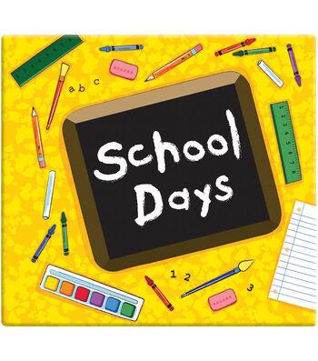 "MBI 12""x12"" Postbound Album-School Days"