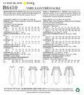 Butterick Pattern B6410 Misses\u0027/Miss Petite Paneled Dresses-Size 14-22