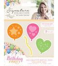 Sara Davies Signature Birthday Party Metal Dies-Balloon Trio