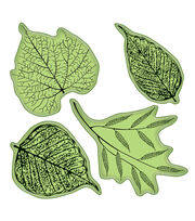 Inkadinkado Stamping Gear-Fossil Leaves, , hi-res
