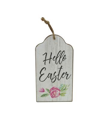 Easter Door Hanger-Hello Easter