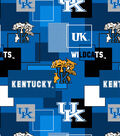 University of Kentucky Wildcats Cotton Fabric 43\u0027\u0027-Modern Block