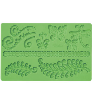 Wilton Fondant And Gum Paste Silicone Mold Fern