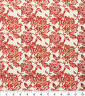 Keepsake Calico Cotton Fabric -Rusty Floral