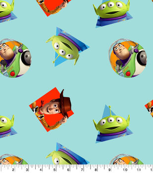 Disney Toy Story 4 Cotton Fabric-Character