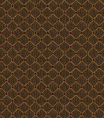 "Jaclyn Smith Upholstery Fabric 55""-Newark Rot/Pecan"