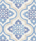 P/K Lifestyles Upholstery Fabric 54\u0022-Lattice Imprint/Porcelain