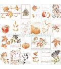 Alexandra Renke Colors Of Autumn Paper 12\u0022X12\u0022-Autumn Wreath Berries