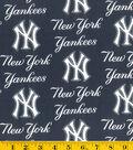 New York Yankees Cotton Fabric -Logo