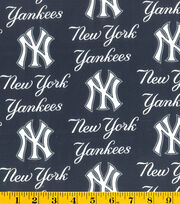 New York Yankees Cotton Fabric -Logo, , hi-res