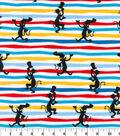 Dr. Seuss Knit Cotton Fabric-Silhouette Stripe
