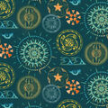Novelty Cotton Fabric-Native Sunburst