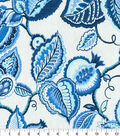 Waverly Upholstery Décor Fabric 9\u0022x9\u0022 Swatch-Fantasy Fleur Ocean