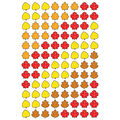 Trend Enterprises Inc. Autumn Leaves superShapes Stickers, 800 Per Pack