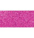 Kaisercraft Glitter Cardstock 12\u0022X12\u0022-Magenta
