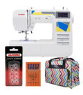 Janome MOD-30 Sewing Machine with Bonus Tote Bag and Accessories