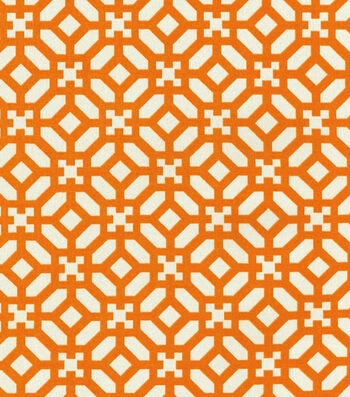 """Waverly Outdoor Fabric 54""""-In the Frame Cayenne"""