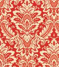 Home Decor 8\u0022x8\u0022 Swatch Fabric-Waverly Donnington Crimson
