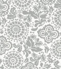 Quilter\u0027s Showcase Fabric -Gray Floral Medallion