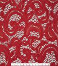 Stretch Knit Lace Fabric 57\u0027\u0027-Red