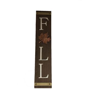 Simply Autumn Vertical Porch Sign-Fall