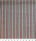 Quilter\u0027s Showcase Cotton Fabric-Red & Black Stripe