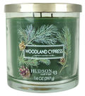Hudson 43 Candle & Light 14 oz. Woodland Cypress Scented Jar Candle