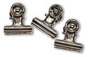 "Idea-Ology Hinge Clips 1"" 15/Pkg-Antique Nickel, , hi-res"
