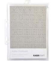 Kaisercraft Chipboard Embellishments-145PK/Alphas, , hi-res