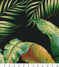 Tommy Bahama Outdoor Fabric 9\u0022x9\u0022 Swatch-Palmiers Caviar