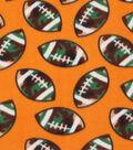 Blizzard Fleece Fabric 59\u0022-Football Camo