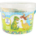 Perler Small Fused Bead Bucket Kit-Dinosaurs