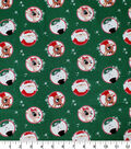 Rudolph the Red Nosed Reindeer Cotton Fabric-Badge Toss