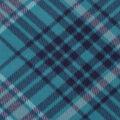 Blizzard Fleece Fabric-Kate Teal & Blue Plaid