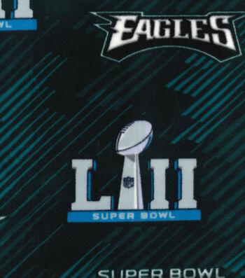 Philadelphia Eagles Fleece Fabric-Super Bowl LII Championship