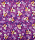 Disney Frozen Jersey Fabric 59\u0022-Anna and Elsa Sparkle