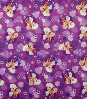 "Disney Frozen Jersey Fabric 59""-Anna and Elsa Sparkle, , hi-res"