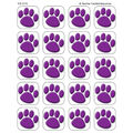 Teacher Created Resources Purple Paw Prints Stickers 12 Packs