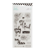 Heidi Swapp Magnolia Jane 14 pk Clear Stamps-Only You, , hi-res