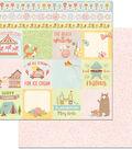 Weekend Adventures Double-Sided Cardstock 12\u0022X12\u0022-Bear Hug