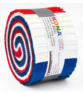 Kona Fabric Roll-Patriotic