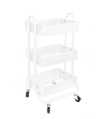 Organizing Essentials 3-Tier Organizer Cart