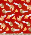 Birthday Fortune Cookie Print Fabric