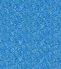 Keepsake Calico Cotton Fabric-Scribble Flowers Blue