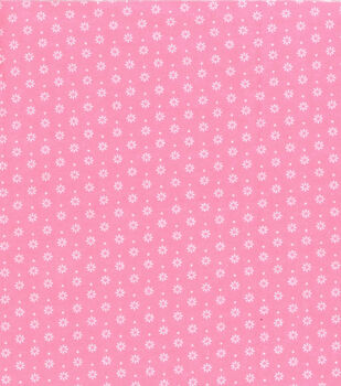 Wide Flannel Fabric -Blossom Geometric Floral