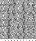 Quilter\u0027s Showcase Cotton Quilt Fabric -Mums Gray